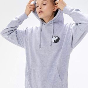 UO BDG Aphrodite Yin Yang Hoodie Sweatshirt Medium